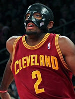 Kyrie Irving with Black Mask