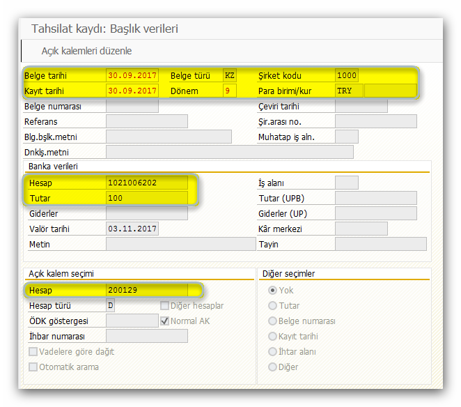 SAP Sisteminde Müşteri Faturası ve Tahsilat İşlemleri Nasıl Yapılır