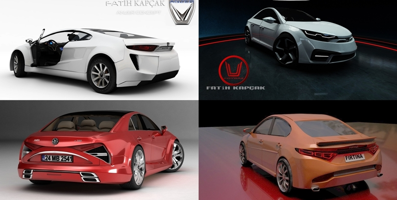 İşte Yerli Otomobil Konseptleri (Türk Tasarımları)