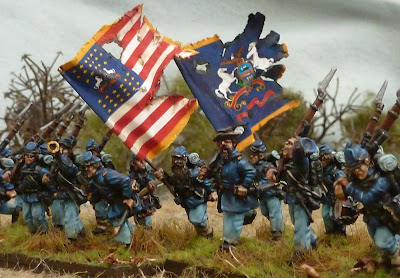 UNION SUCCESS AT THE BLOODY ANGLE, 4.30AM, MAY 12, 1864 ... |American Civil War Battle Paintings