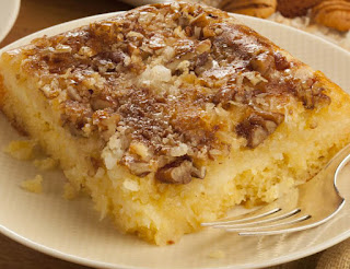 Upside-Down Georgia Pecan Cake
