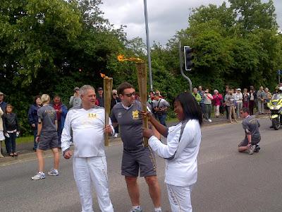 nigeria olympic torch bearer funke akindele