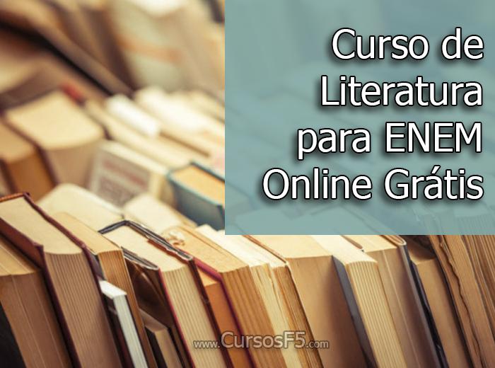 Curso de Literatura para ENEM Online Grátis