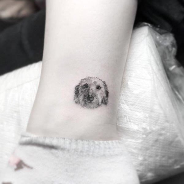 Irish Wolfhound Tattoo