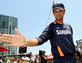 Hand Image of Rahul Dravid Palmistry