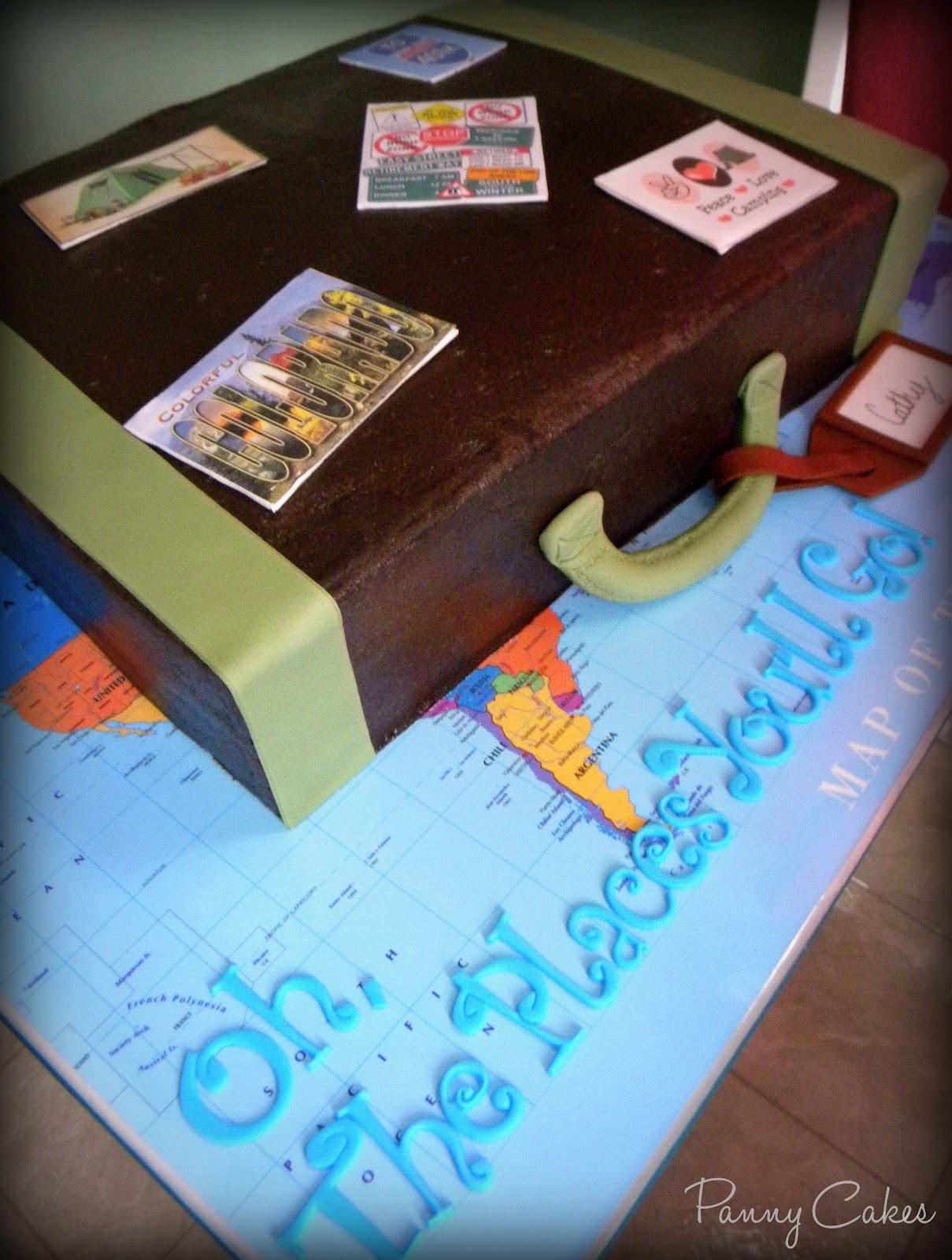 Pin Retirement Cake Idea Cake