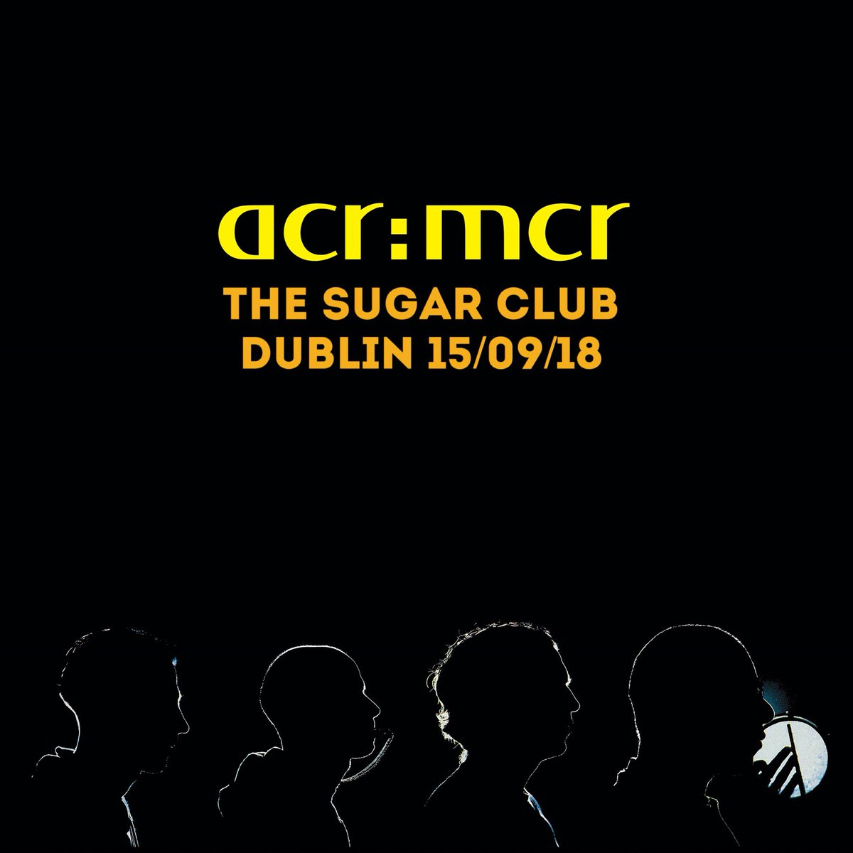 September 15 2018, Sugar Club, Dublin - ACR Gigography