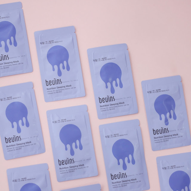 Beuins Nutrition Sleeping Mask Pack Kbeauty