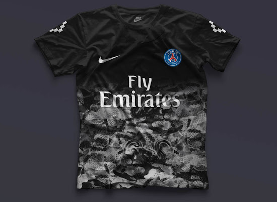 cab06548552 Five Nike Paris Saint-Germain Concept Kits by mbroidered - Footy ...