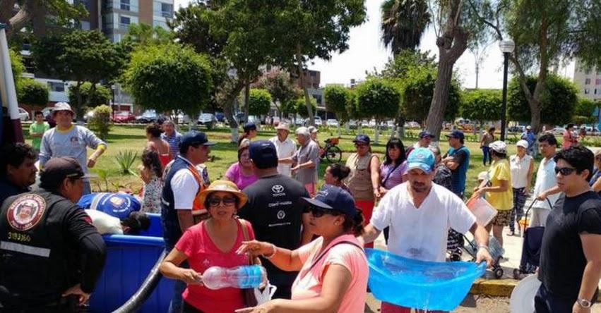 SEDAPAL: Conoce los puntos de distribución gratuita de agua potable en caso de potente sismo en Lima y Callao - www.sedapal.com.pe