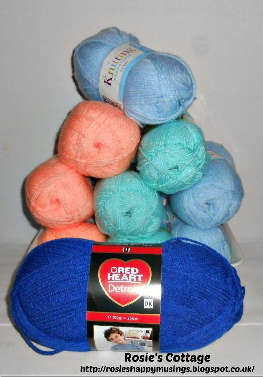 New Yarn Supplies
