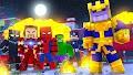 Mod Os Vingadores, Guerra Infinita para Minecraft PE