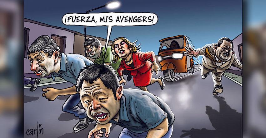 Carlincaturas Lunes 15 Enero 2018 - La República
