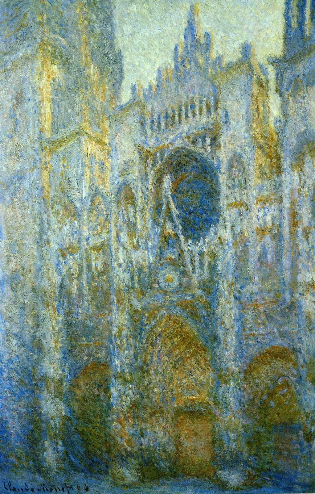 Claude Monet | The Rouen Cathedral - 657.3KB