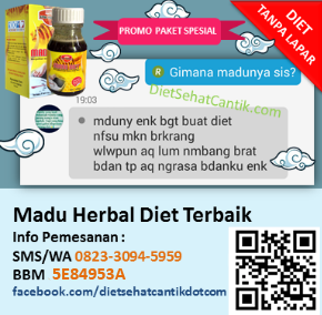 Madu Herbal Diet Terbaik