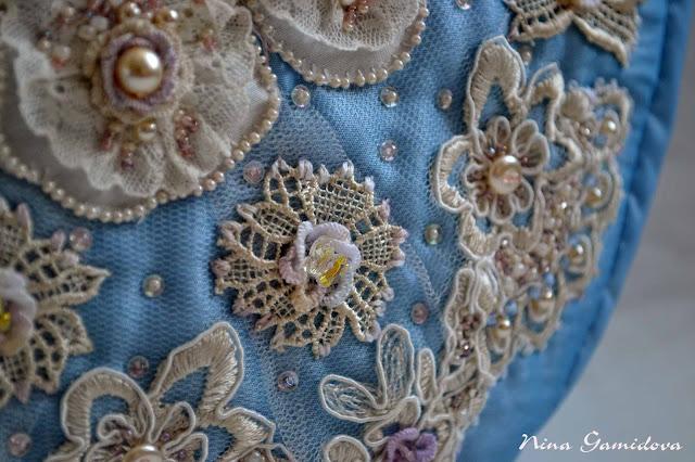 Вышивка бисером, вышивка декоративными швами