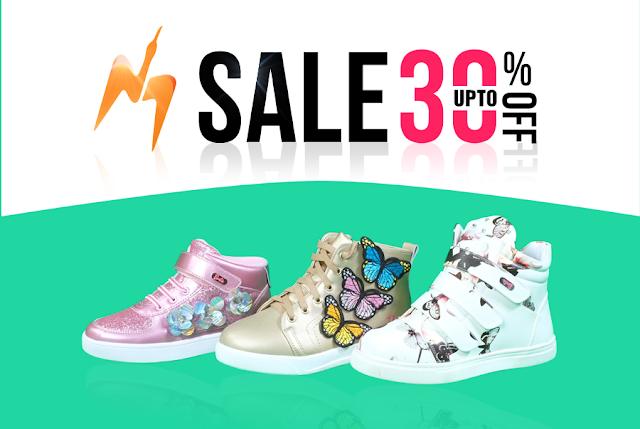 Sale off 20 - 30% giày thể thao trẻ em năm 2017