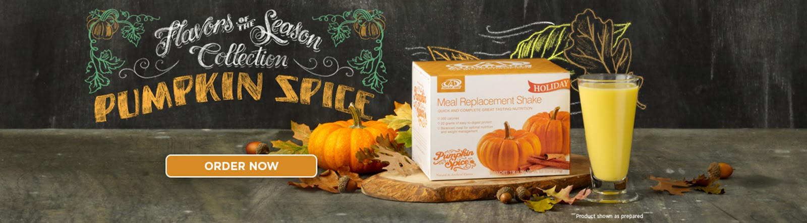 Pumpkin Spice Meal Replacement Shake