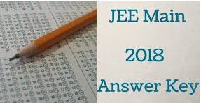 JEE Mains Answer Key 2018, Cut-off View