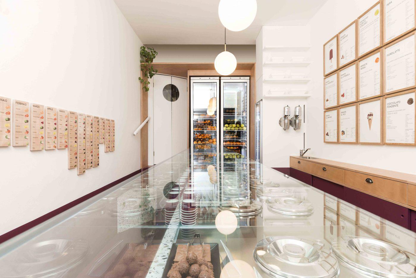 Imagine These Ice Cream Shop Interior Design Ice Cream Laboratory