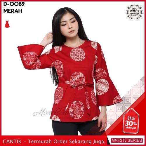 MNF213A141 Atasan D Wanita 0089 Batik Atasan Blouse 2019 BMGShop