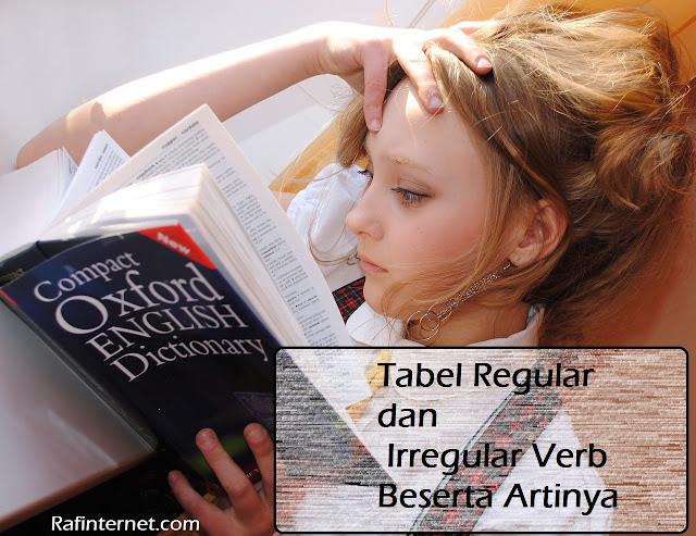 pict of Tabel Regular dan Irregular Verbs Lengkap Beserta Artinya