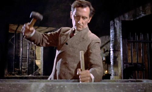 Magia Posthuma: Astute, eloquent, and immaculate: Peter Cushing as Van  Helsing