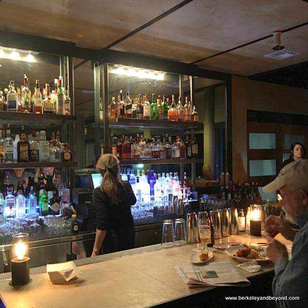 bar at Moonraker in Rockaway Beach in Pacifica, California