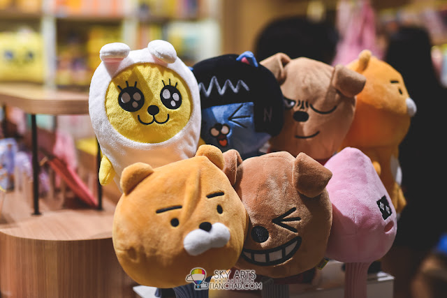 Kakaotalk Plush Toy @ Shinsegae Duty Free Shop