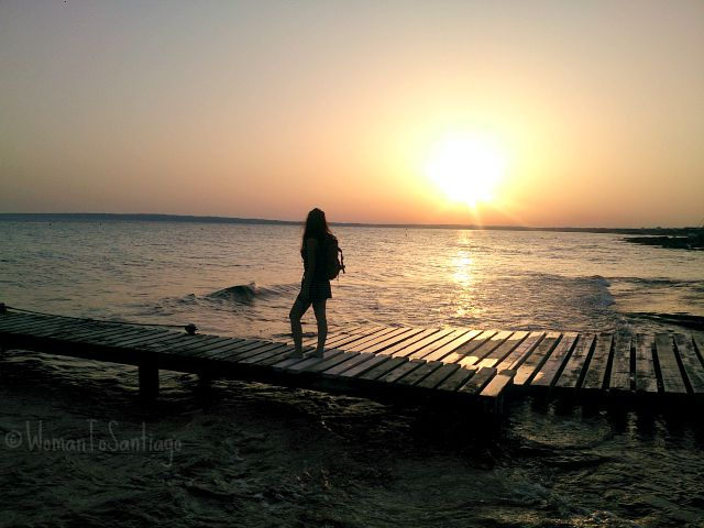 foto sunset mediterraneo
