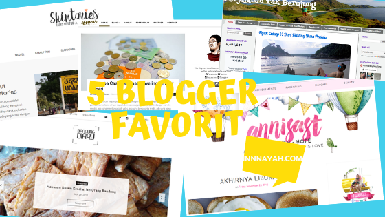 5 Blogger Indonesia Favorit