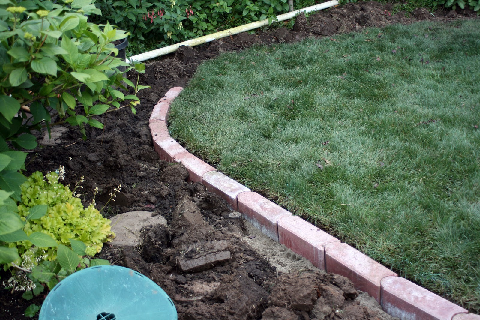 Food And Garden Dailies Brick Edging For The Lawn