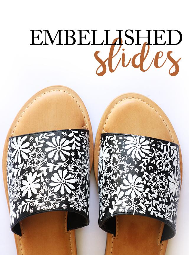 embellished slides