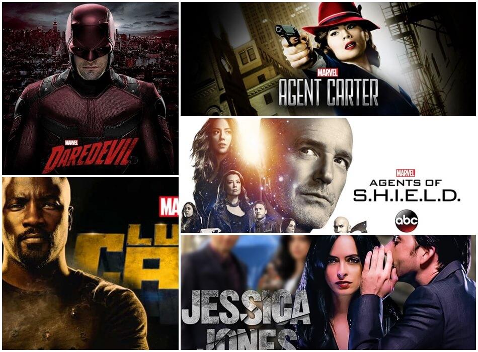 5 séries baseadas em personagens Marvel para ver na Netflix
