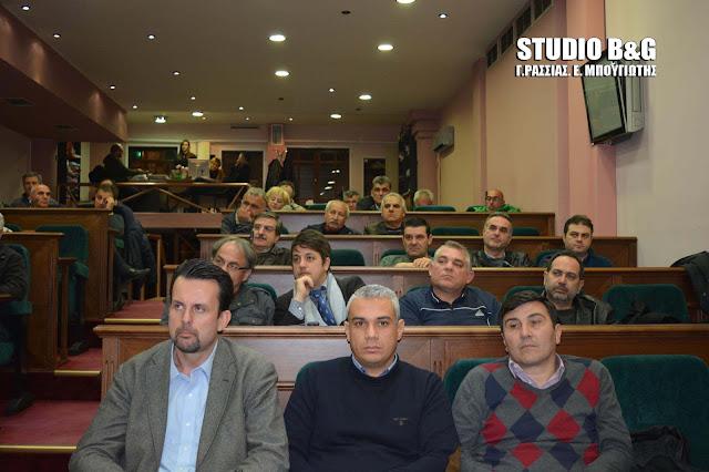 Δημοτικό Συμβούλιο στο Άργος στις 30 Μαΐου 2017 με 20 θέματα
