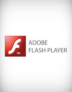 adobe flash player vector logo, adobe, flash, player, vector, logo, computer, pc, laptop, internet, web, browser, software