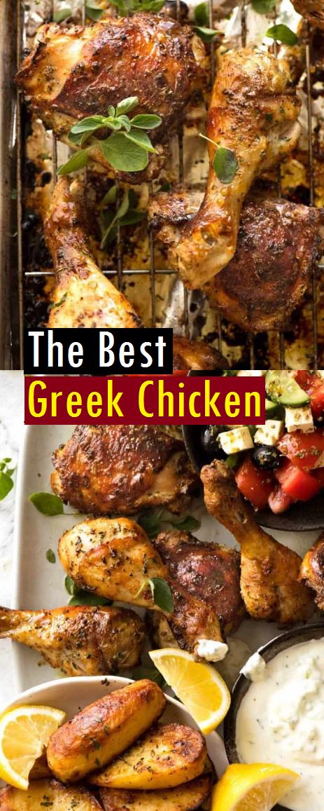 The Best Greek Chicken Recipe