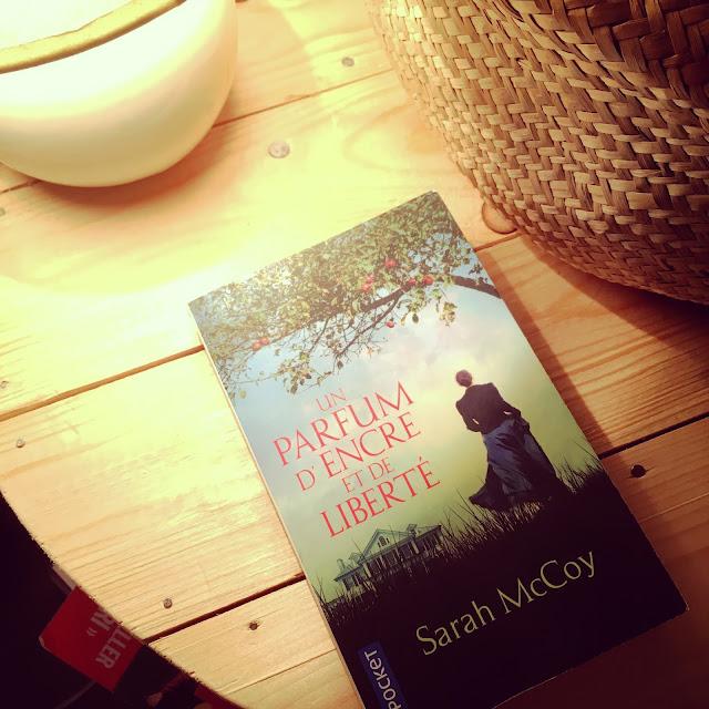 Chronique littéraire Un parfum d'encre et de liberté par Mally's Books