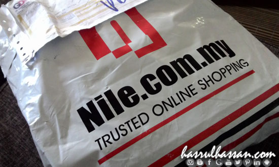 Pengalaman Online Shopping Nile.com.my