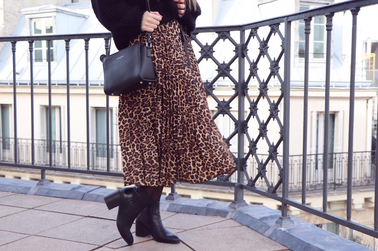 jupe midi leopard 4