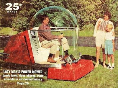 Lazy Man's Power Mower