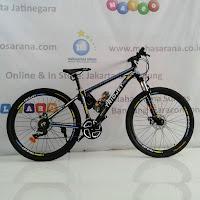 275 triojet gallion mountain bike black/blue