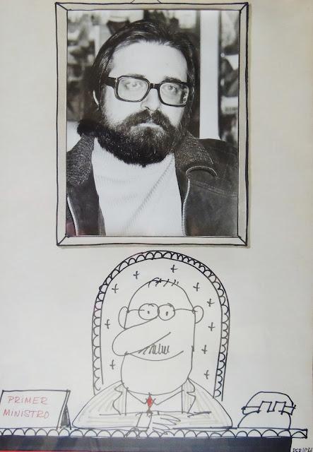 Jaume Perich ilustración ministro dibujo Gaudifond Arte