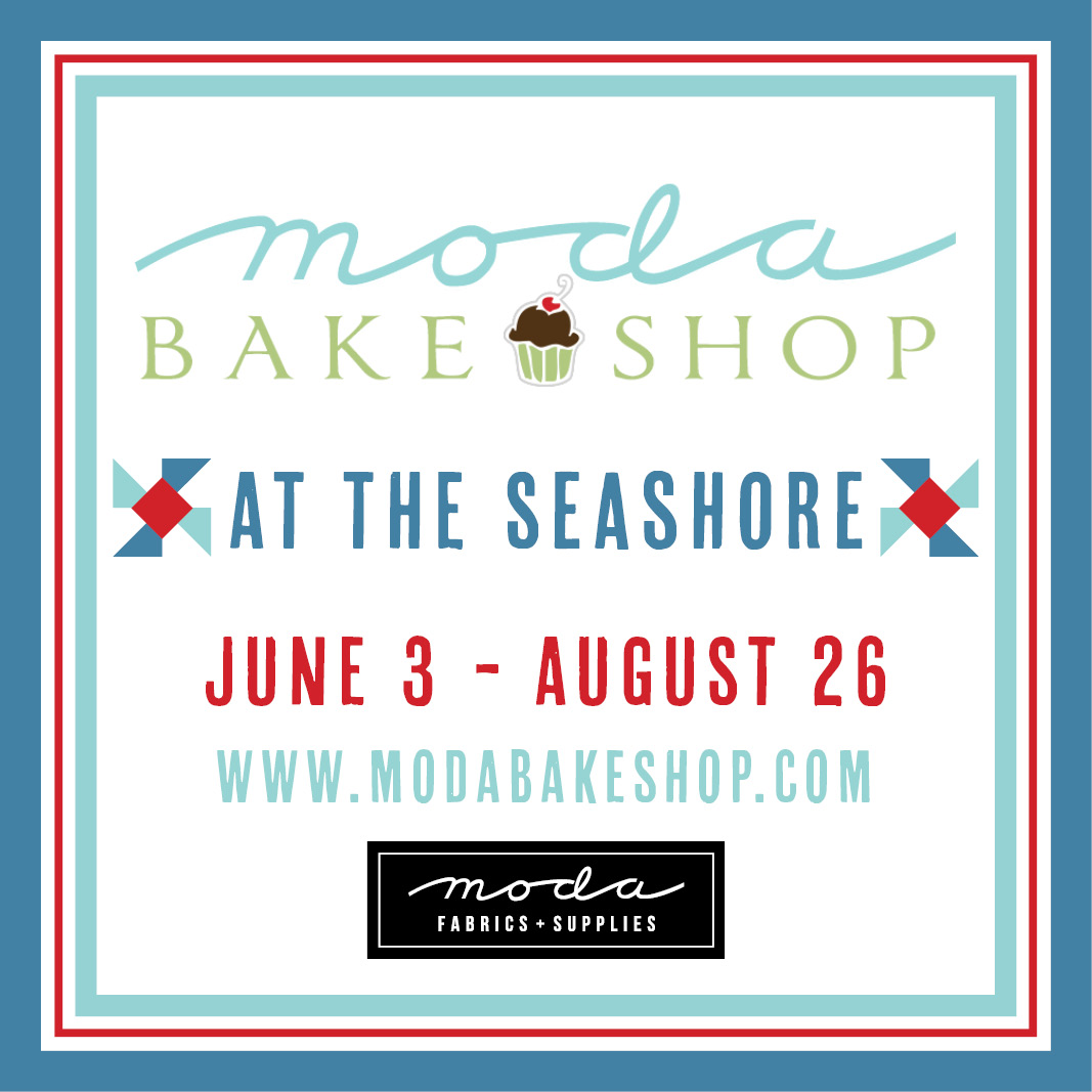Moda Bakeshop At The Seashore QAL