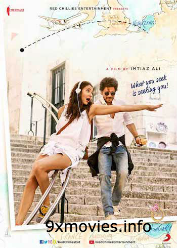Jab Harry Met Sejal 2017 Hindi 480p BluRay 400MB