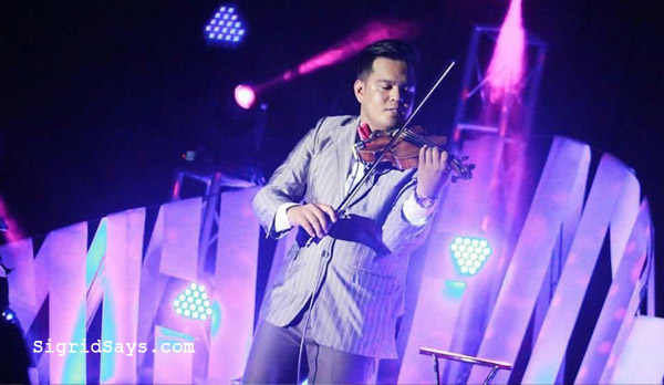 Bacolod wedding suppliers - violinist Jhem Serran