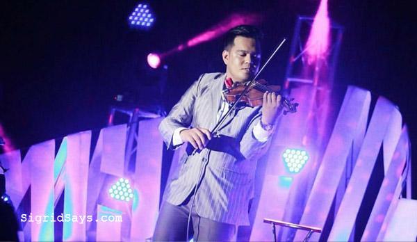 Bacolod wedding suppliers - violinist Jhem Serran