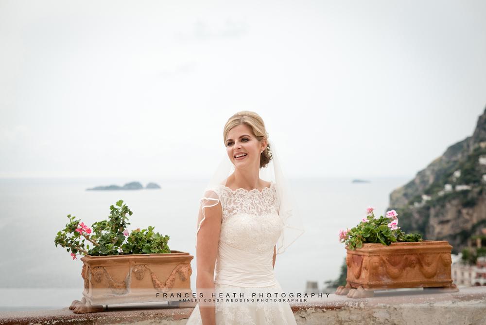 Bride Villa San Giacomo Positano