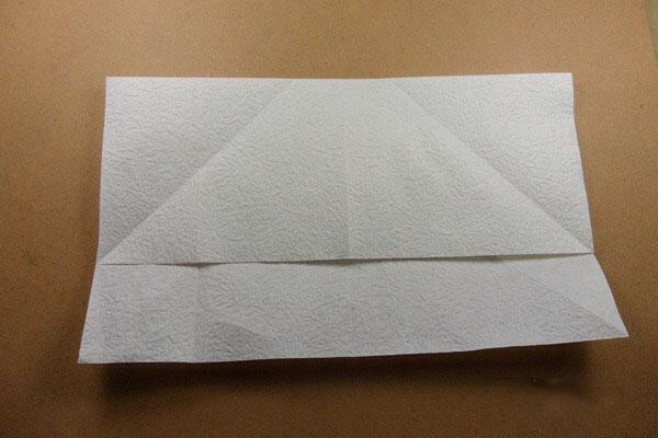 Ангел из бумаги в технике оригами (9)