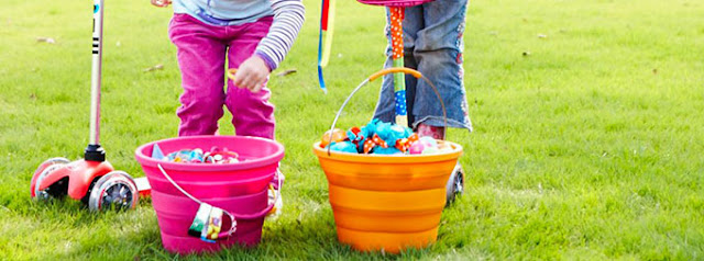 4 ways to scoot to an (almost) healthy Easter